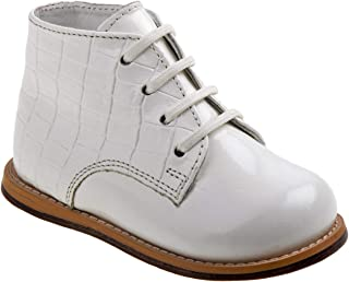 baby boy white patent leather shoes
