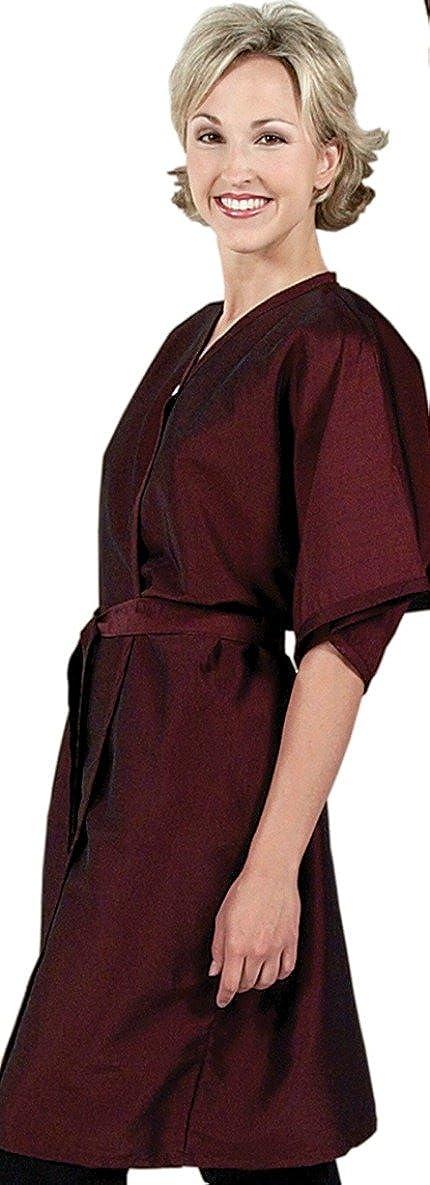 Salon Spa Client Robe USA Made In Kimono Smock Wrap Austin Mall BLA Gown Fees free!!