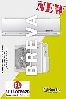 Aire acondicionado Beretta Breva 12.000 BTU Inverter A++ climatizador R32