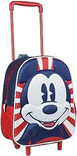 Mochila Carro Infantil 3D Mickey