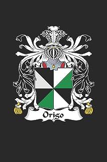 Origo: Origo Coat of Arms and Family Crest Notebook Journal (6 x 9 - 100 pages)