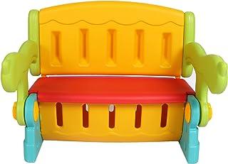 TheTickleToe Multi-Function Convertible Bench Desk Chair Set w/Storage; 64.5 x 49 x 50.3 cms; Multicolour