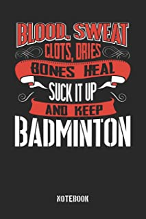 Blood clots sweat dries bones heal. Suck it up and keep Badminton: Gregg Shorthand Paper..
