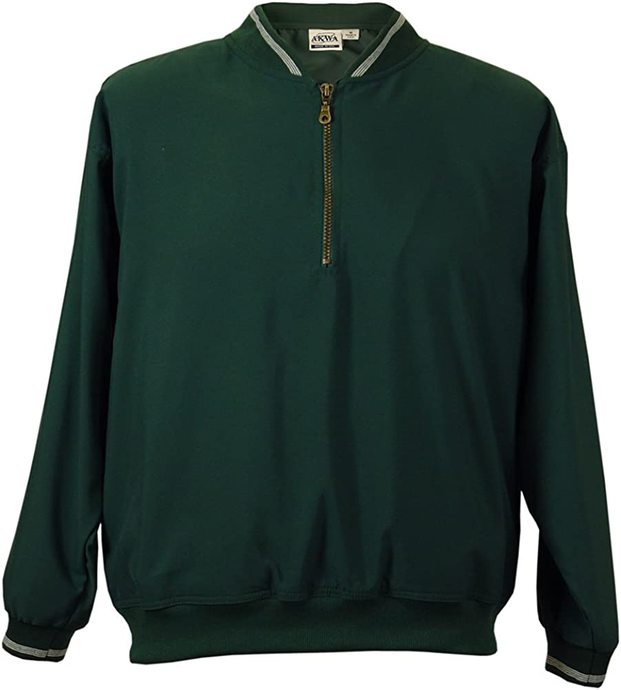 Akwa Men's Omaha Mall 1 4 Zip Windshirt USA Made in Clearance SALE Limited time