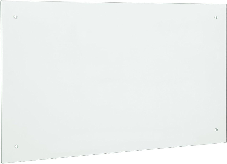 Neu Haus Glas Küchenrückwand Spritzschutz 90x50cm Mattglas Fliesenspiegel Inkl Befestigungsmaterial Amazon De Küche Haushalt