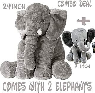 Best comfy elephant pillow Reviews