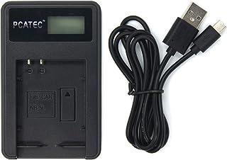 【PCATEC】 CANON NB-5L 対応新型USB充電器☆LCD付4段階表示仕様☆PowerShot SX230 HS S100 (USB充電器☆LCD付)