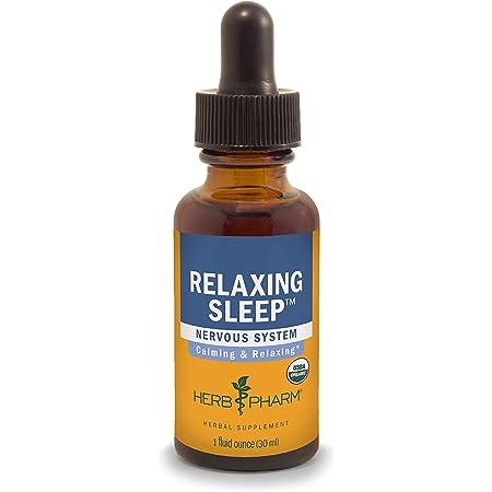 Herb Pharm Relaxing Sleep Herbal Formula with Valerian Liquid Extract - 1 Ounce