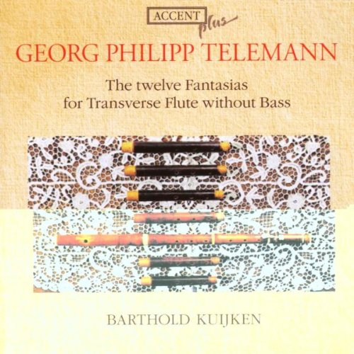 Telemann: Twelve Fantasiasの詳細を見る
