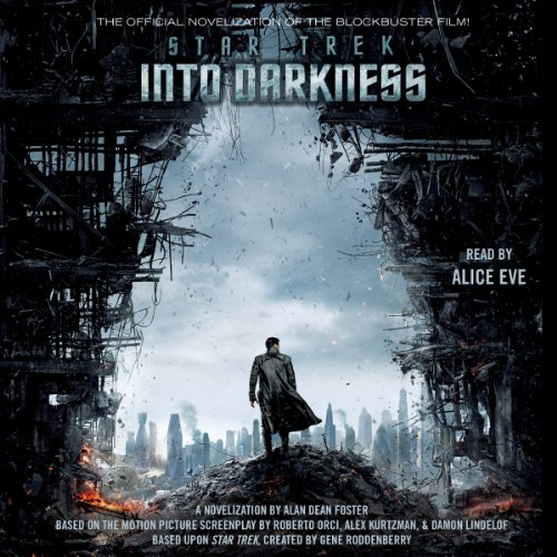 Star Trek: Into Darkness audiobook cover art