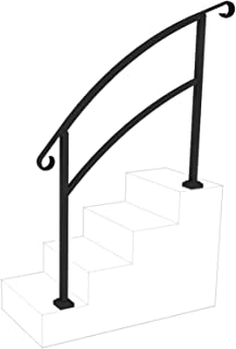 InstantRail 4-Step Adjustable Handrail (Black)
