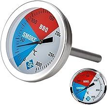 Sangmei Medidor de temperatura 0-300 graus Celsius medidor termômetro de cozinha de aço inoxidável para churrasqueira chur...