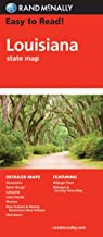 Easy To Read: Louisiana State Map (Rand McNally Easy to Read!)