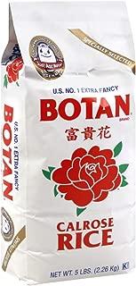 Botan Calrose Rice Extra Fancy, 5lbs
