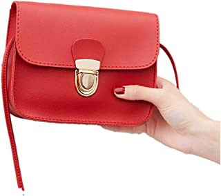 Liraly Women Bags,Summer 2018 Women Fashion Solid Color Cover Lock Shoulder Bag Crossbody Bag Phone Bag