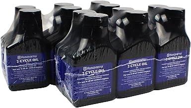 Husqvarna Low Smoke 2 Cycle Oil 2.6 oz – Case 24 Bottles 50:1 Gal Mix