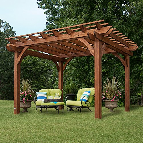 Backyard Discovery 12' by 10' Cedar Pergola