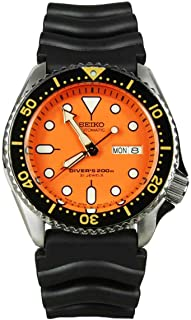 JAPAN Mens Analog Sport Automatic Seiko Watch SKX011J1