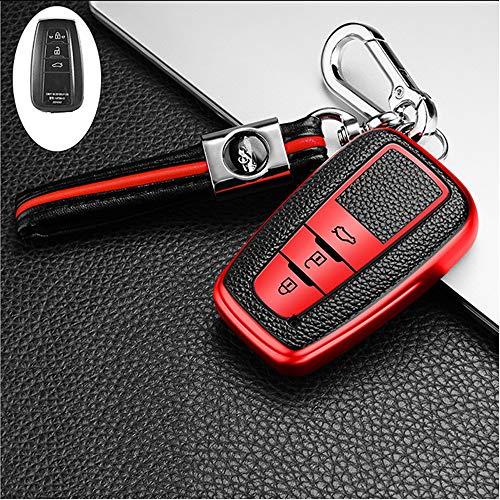 ontto Funda protectora para llave de coche de TPU para Toyota C-HR Camry RAV4 Corolla Yaris Aygo Pri