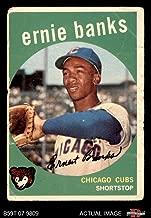 1959 ernie banks baseball card