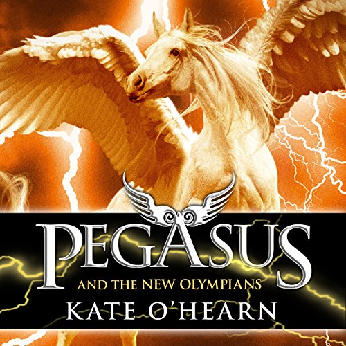 Pegasus and the New Olympians audiobook cover art