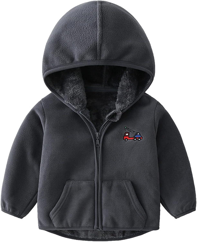 Children's Coat New life Fleece Hooded Thickened Soft C Challenge the lowest price Velvet Stand