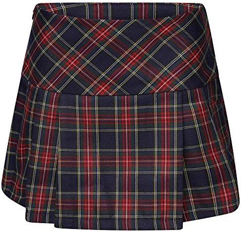 Ro Rox Womens Gwen High Waist Tartan Punk Scottish Billie Mini Skirt
