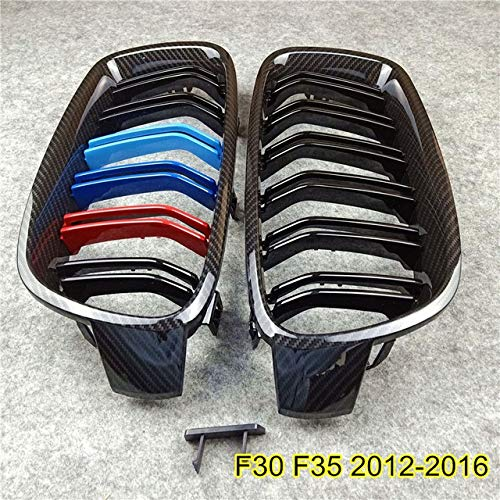 Autorennen-Grills Auto-Fronthaube Grille Fit For BMW F20 F22 E46 E90 F30 F34 F32 E92 G30 G38 E39 E60 F10 F48 E84 X3 X4 X5 X6 F06 F07 F01 Mesh-Grille Frontstoßstange Grille