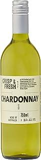 [Amazon限定ブランド]【グレープフルーツやは白桃の香り】クリスプ&フレッシュ・シャルドネ 750ml [ オーストラリア/白ワイン/辛口/Curator's Choice ]