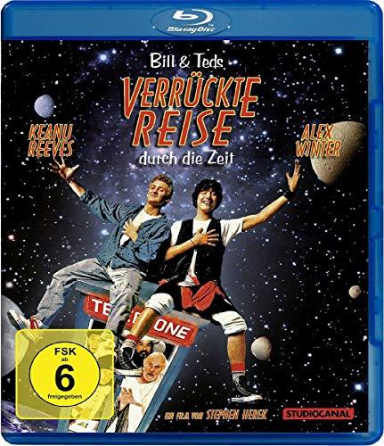 Bill & Ted's verrückte Reise durch die Zeit [Blu-ray]