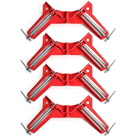 YIPON Right Angle Clamp,Angle Clip Fish Tank Photo Frame Clip 90 Degree Aluminum Alloy Woodworking Tools and Accessories