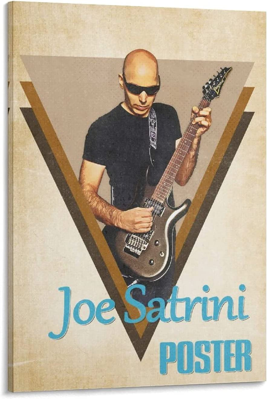 Joe Satriani Y Oklahoma City Mall Canvas Easy-to-use Art Poster Wall Print Mode Picture and
