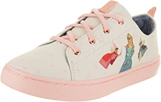 TOMS Kids Lenny Fairy Godmother Natural Fairy Godmother Casual Shoe 2 Kids US