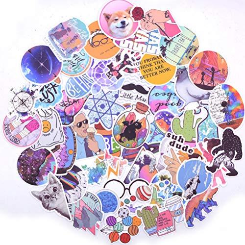 100 Stks Exquisite Sticker Pack Ding Meisje Laptop Telefoon Koffer Reizen Gitaar Koelkast Waterdichte Sticker