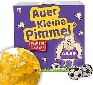 Alles für Aue-Fans by Ligakakao.de Auer KLEINE PIMMEL | Echt gemein leckere Fruchtgummi für Erzgebirge AUE-Fans, inklusive Messlatte zum Lachen & Vergleichen by Ligakakao.de | Für mehr Spaß in der Liga!