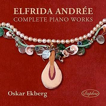 Elfrida Andrée: Complete Piano Works