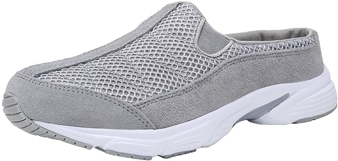 FANTURE Womens Classic Seattle Mall Mesh Breathable Casual Clog L Sneakers Mule Ultra