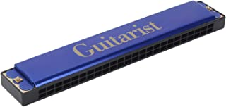 Guitarist blue GT-24 Mouth Organ Harmonica 48 holes For Childerns