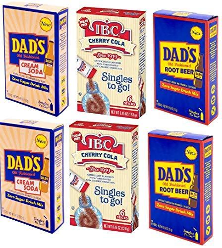 Singles to go, IBC Cherry Cola, Dad