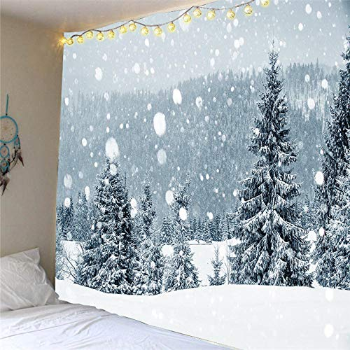 votgl Christmas Tree Big Tapestry Wall Hanging Christmas Hanging Cloth Decorative Cloth Santa Claus Home Decor 2021 Decorations230*180cm LISM