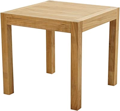 Gartentisch Holztisch Gartenmöbel Tisch VALLETTA rund 110cm Akazie Brushed Wash