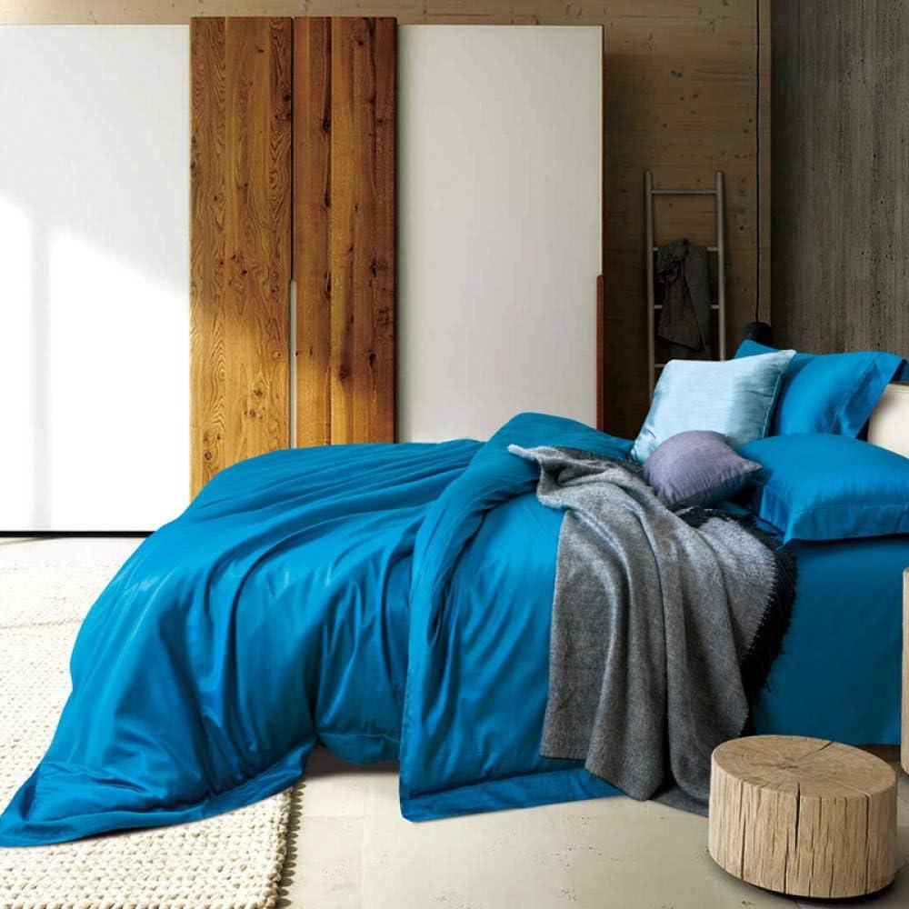 YIEBAI 100S Luxury 2021 new Satin Cotton Bedding Flat Ranking TOP3 Cover Sets Fi Duvet