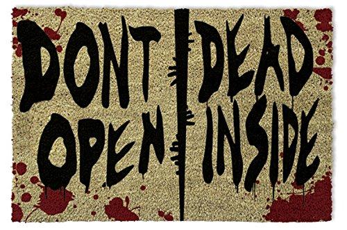 1art1 The Walking Dead - Dont Open, Dead Inside Zerbino (60 x 40cm)