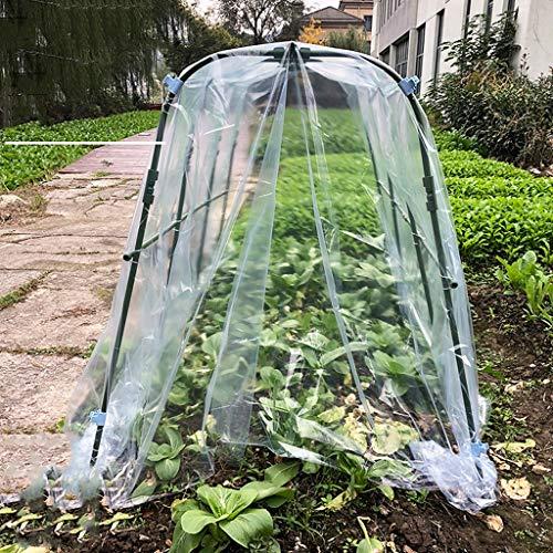 XY&CF-Flower house Support de Serre Plante en Acier Inoxydable PE Couverture Serre Jardin (173 * 105 * 125cm)