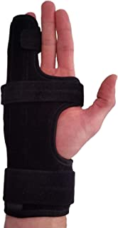 Metacarpal Finger Splint Hand Brace – Hand Brace & Metacarpal Support for Broken Fingers, Wrist & Hand Injuries or Little ...