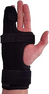 Metacarpal Finger Splint Hand Brace – Hand Brace & Metacarpal Support for Broken Fingers, Wrist & Hand Injuries or Little Finger Fracture (Right - Small/Med)