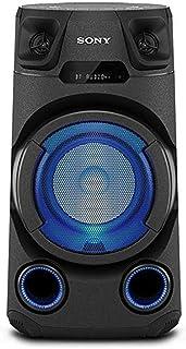 Sony MHC V13 Leistungsstarkes Audiosystem (150 Watt Ausgangsleistung, Mega Bass, Bluetooth und NFC) Schwarz
