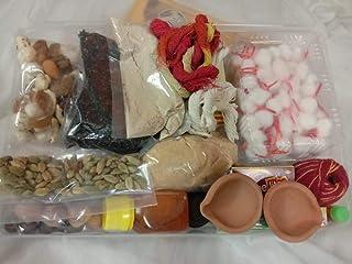 Divine Hawan and Pooja Samagri Kit (28 Items Combo)  griha pravesh Puja samagri, Durga Puja Samagri Navratri Pooja Samagr...
