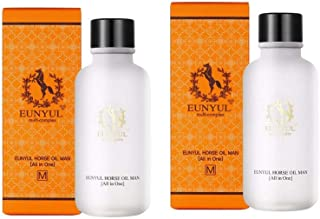 Eunyul馬油オールインワン125mlx2本セットメンズコスメ韓国コスメ、Eunyul Horse Oil All in One 125ml x 2ea Set Men's Cosmetics Korean Cosmetics [並行輸入品]