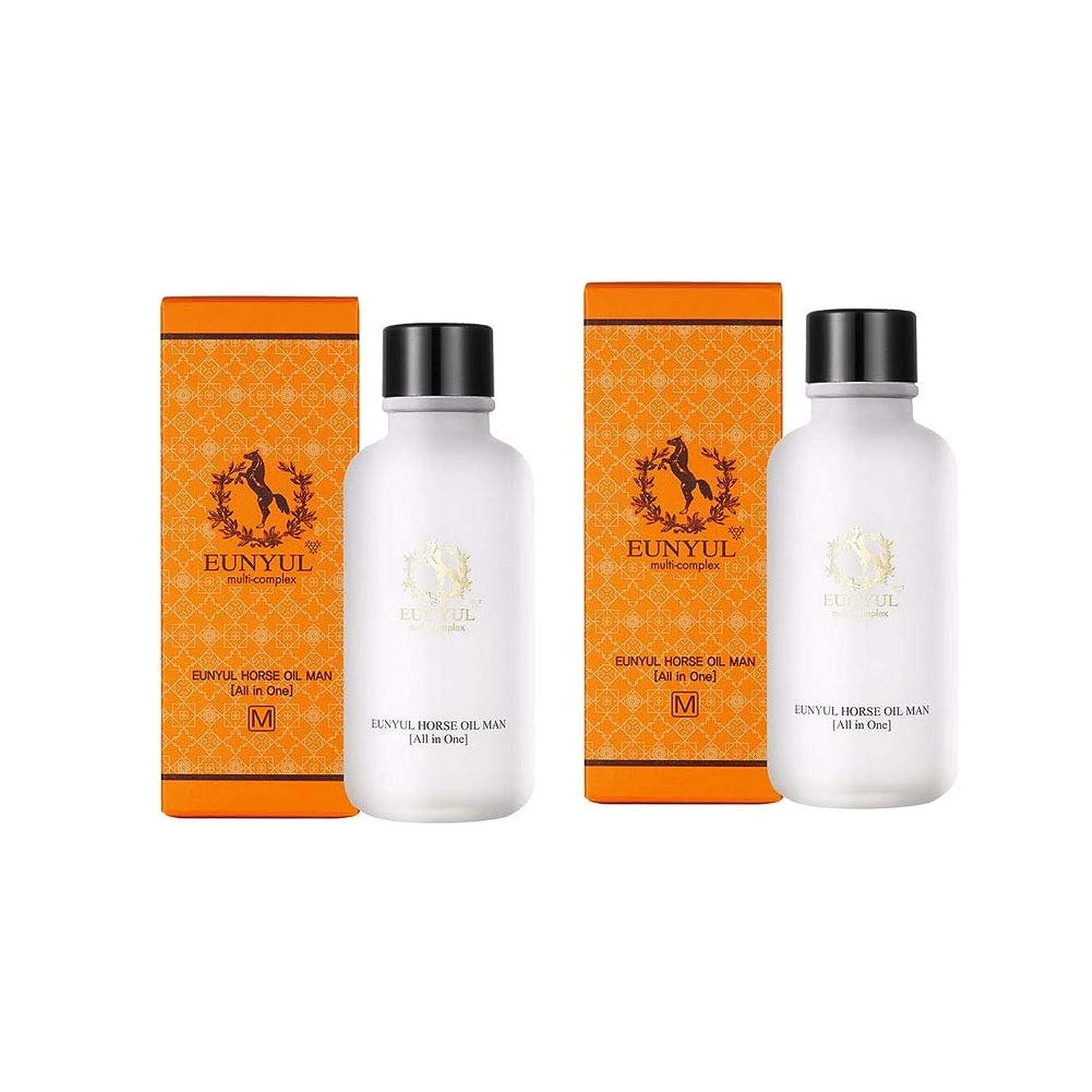 ライフル挽く価値Eunyul馬油オールインワン125mlx2本セットメンズコスメ韓国コスメ、Eunyul Horse Oil All in One 125ml x 2ea Set Men's Cosmetics Korean Cosmetics [並行輸入品]